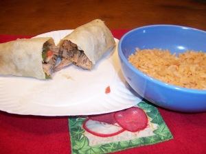 Picture of Mexican Burrito